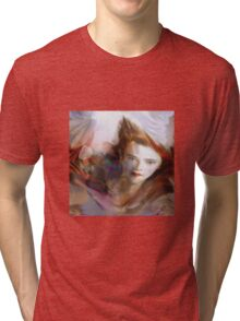 """Dream Angel"" © 2008 Brad Michael Moore Tri-blend T-Shirt"