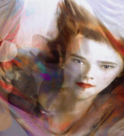 """Dream Angel"" © 2008 Brad Michael Moore Sticker"