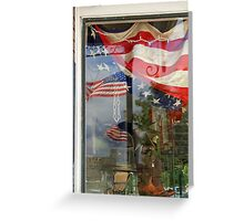 Reflections of Our Flag Greeting Card