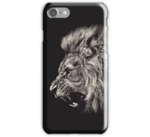 Male Lion Portrait iPhone Case/Skin