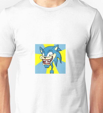 Creepy Sonic Unisex T-Shirt