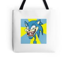 Creepy Sonic Tote Bag