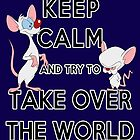 Keep Calm and Try to Take Over the World by Ellador