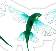 Flying Fish Sticker