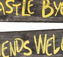 Castle Byers Sticker