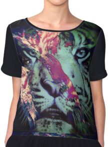 Tiger_8617 Chiffon Top