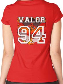 "Personal Valor ""Jersey"" Women's Fitted Scoop T-Shirt"