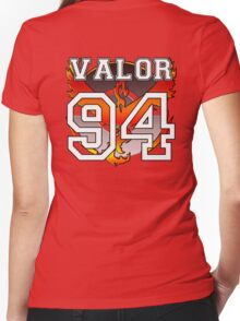 """Personal Valor """"Jersey"""" Women's Fitted V-Neck T-Shirt"""