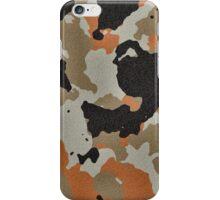 Fashion Orange Camouflage  iPhone Case/Skin