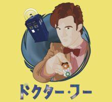 Anime Doctor Who Kids Tee
