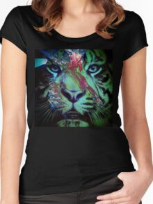 Tiger_8616 Women's Fitted Scoop T-Shirt
