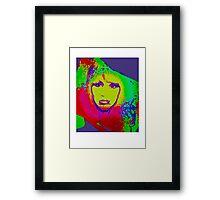 Rainbow Kate Framed Print