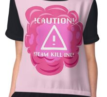 Team Kill Inc Chiffon Top