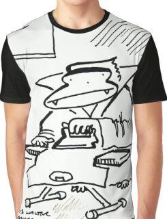 Vampire Ape Irons Tshirt Graphic T-Shirt