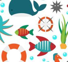 Marine Dive Life Sticker