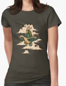 Away we fly... Womens Fitted T-Shirt