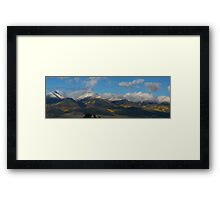 Autumn In The Sangres Framed Print
