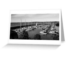 1091 Newhaven Harbour Greeting Card