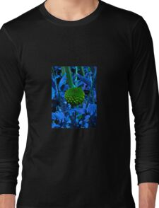The green ball flower Long Sleeve T-Shirt