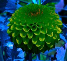 The green ball flower Sticker