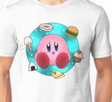 Kirby and food Unisex T-Shirt