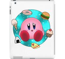 Kirby and food iPad Case/Skin