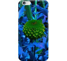 The green ball flower. iPhone Case/Skin
