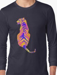 Retro color Animals Long Sleeve T-Shirt