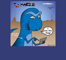 T-Rex Mobile Cell Phone and Texting or T-rexting Unisex T-Shirt