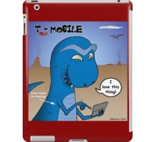 T-Rex Mobile Cell Phone and Texting or T-rexting iPad Case/Skin