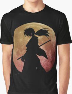 Kenshin into the Dark Graphic T-Shirt