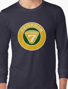 Caterham SUPER 7 Badge Long Sleeve T-Shirt
