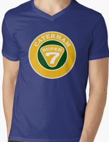 Caterham SUPER 7 Badge Mens V-Neck T-Shirt