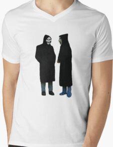 Brand New The Devil and God Are Raging Inside Me Mens V-Neck T-Shirt