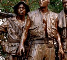 The Three Servicemen - Vietnam Memorial Sticker