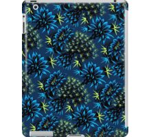 Cactus Floral - Blue/Black/Green iPad Case/Skin