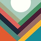 Geometric Rows of Valleys by Budi Satria Kwan