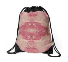 Decorative Textiles -Love is a parasite - Petal evolutions Drawstring Bag