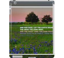Genesis 1:11 iPad Case/Skin