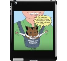 Seeing-Eye Hamster iPad Case/Skin