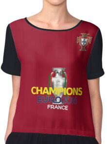 EURO 2016 CHAMPIONS - Portugal Football Team Chiffon Top