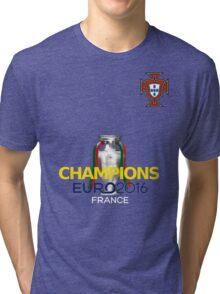 EURO 2016 CHAMPIONS - Portugal Football Team Tri-blend T-Shirt