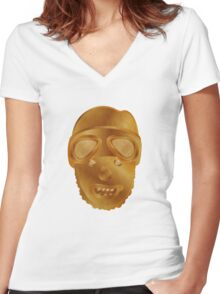Stormzy / Wicked Skeng Man Part 4 Women's Fitted V-Neck T-Shirt