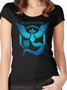 Epic Nerd Camp Team Mystic Women's Fitted Scoop T-Shirt