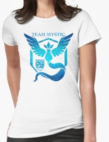 Epic Nerd Camp Team Mystic Womens Fitted T-Shirt