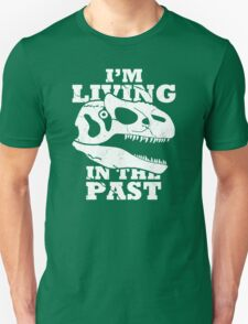 Living in the Past with Allosaurus Unisex T-Shirt