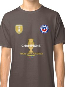 Final Copa America 2016 Champions - Chile Football Team Classic T-Shirt