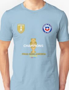Final Copa America 2016 Champions - Chile Football Team Unisex T-Shirt
