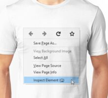 Inspect Element Unisex T-Shirt
