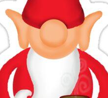 Standing Christmas Elf Sticker
